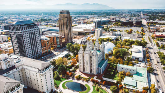 Salt Lake City, Utah.