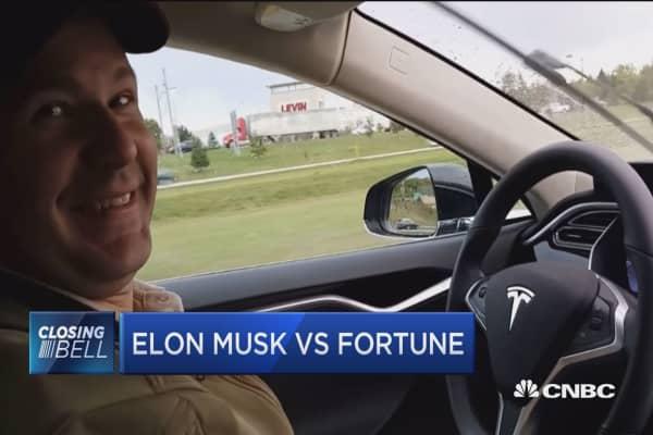 Fortune's Murray: I'm a big fan of Elon Musk