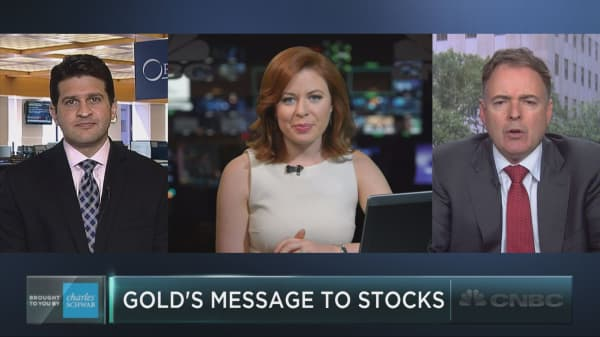 What gold and silver are saying about stocks