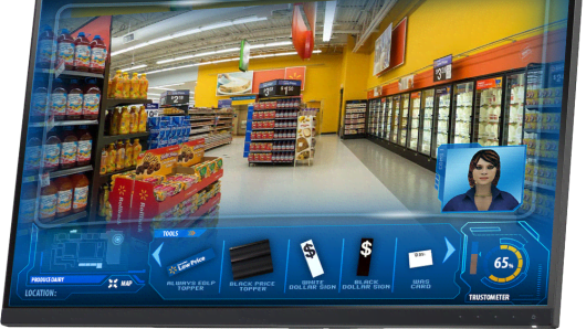 A screen from Wal-Mart's Pathways training.