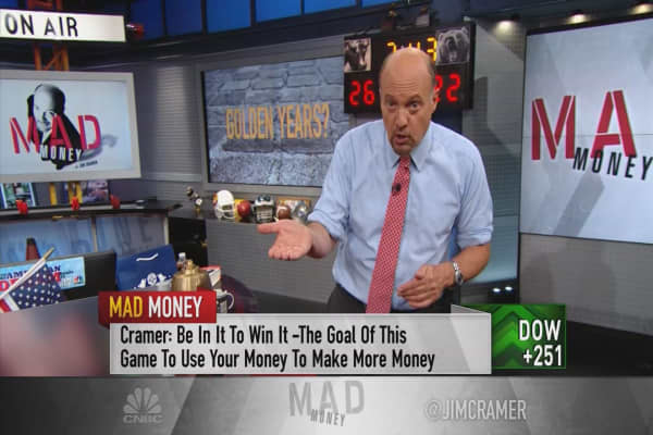 Cramer: Why bonds could be bad for retirement