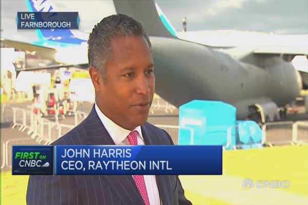 Raytheon International intends to remain in UK: CEO