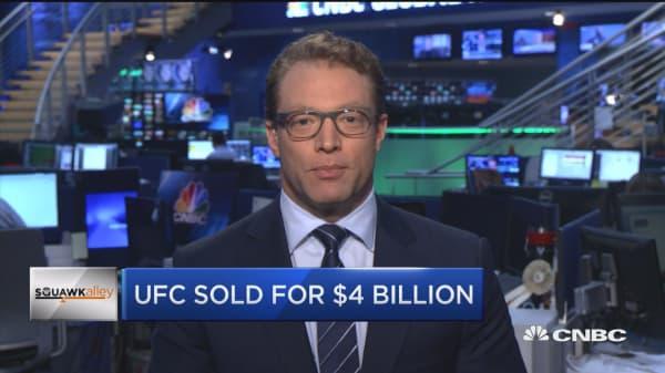 $4 billion UFC sale