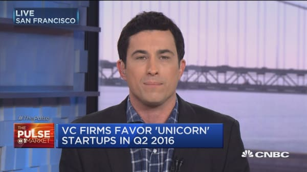 VC firms favor unicorn startups in Q2
