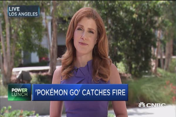 Pokémon Go boosts Nintendo's market value