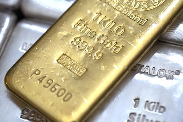 Gold and Silver bars