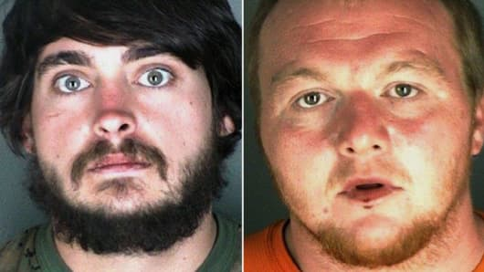 Zackary Ryan Kuykendall and Jimmy Andrew Suggs have been arrested in connection with a wildfire that has destroyed at least three homes and three buildings north of Nederland in Boulder County.