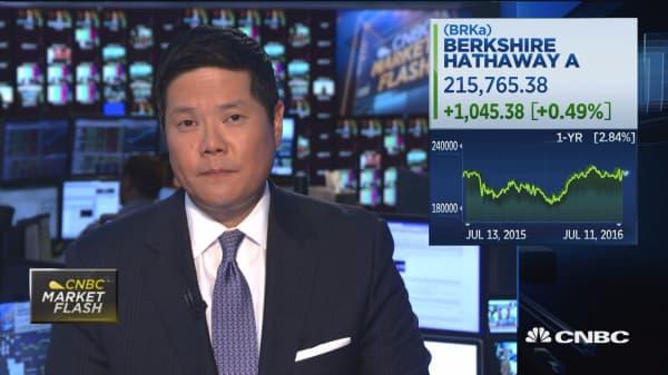 Amazon overtakes Berkshire