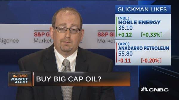 Buy big cap oil?