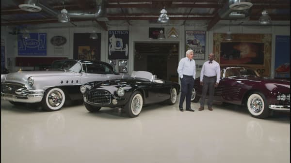 "Jay Leno's Garage: Highlight Clip - ""The cost of cool"""