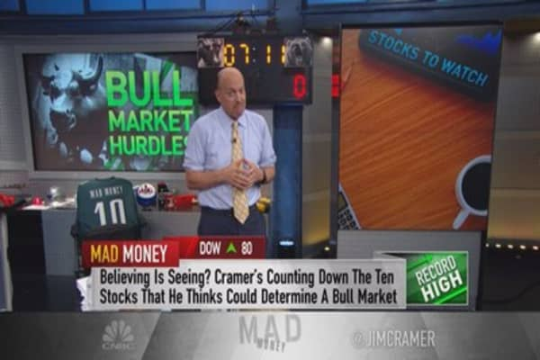 Cramer: 10 stocks that must rally for a real bull market to emerge