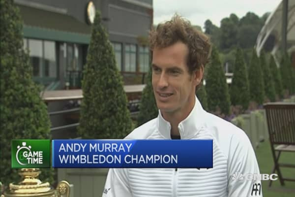Andy Murray's next big goal? The Olympics