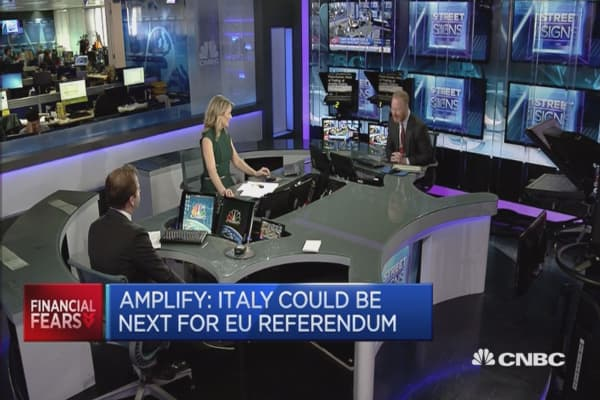 Italy could be next for EU referendum: Amplify