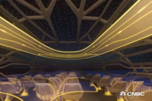 Airplane cabin of the future?