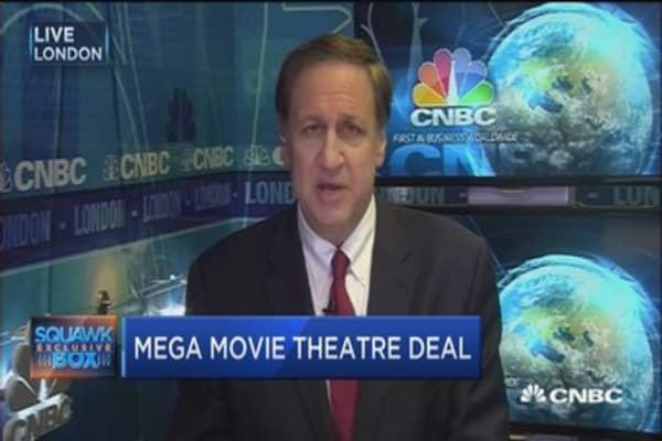 AMC announces mega movie theatre deal: CEO
