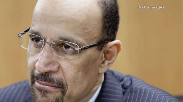 Saudi Energy Minister worries about oil demand