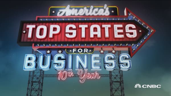 North Carolina ranks 5th for Top States