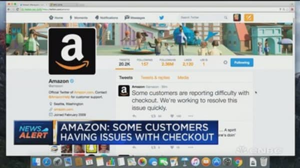 Amazon: Some customers having issues with checkout