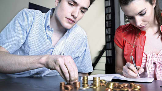 Millennials with money, managing money, financial advisor