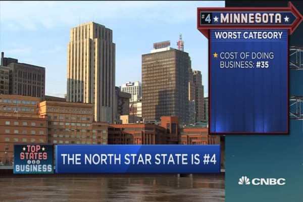 Top State for Business: Number 4