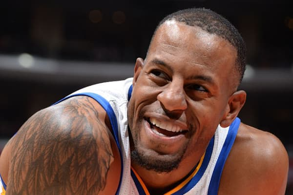Andre Iguodala #9 of the Golden State Warriors