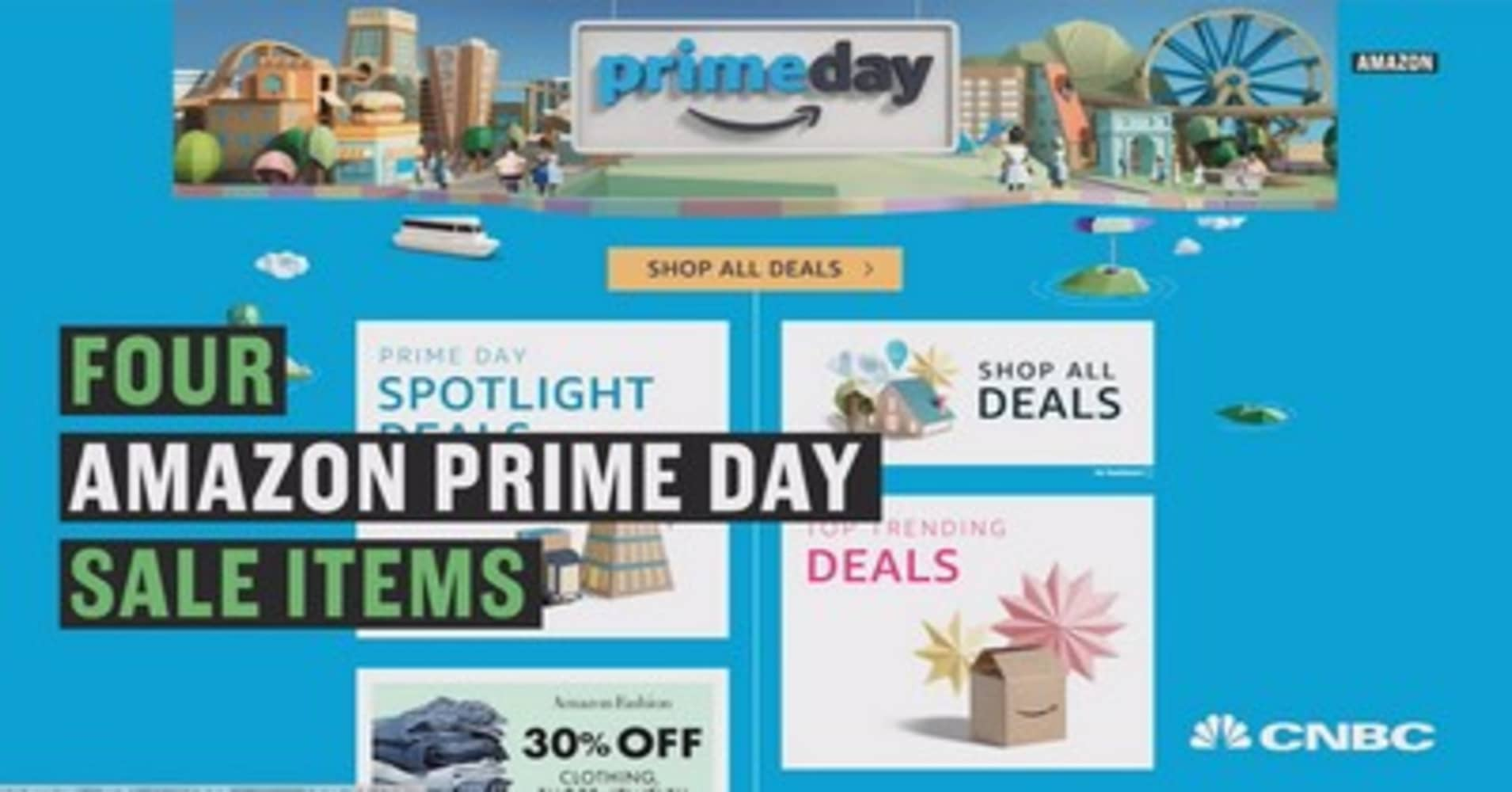 Four awesome amazon prime day sale items