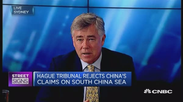 How would the South China Sea ruling affect investors?