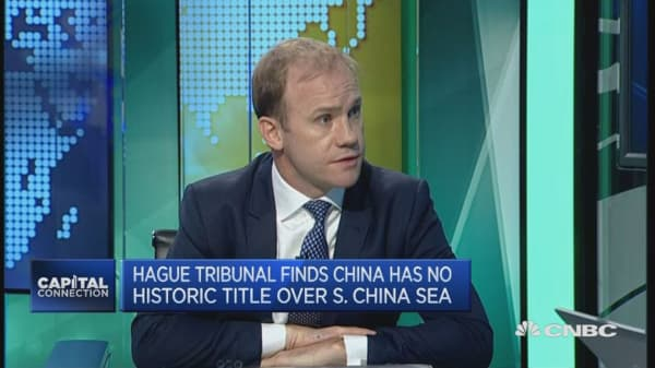 China Hague ruling