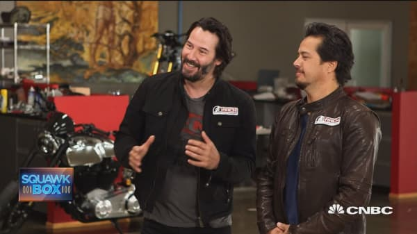 Keanu Reeves takes star power on the road with Arch Motorcycle