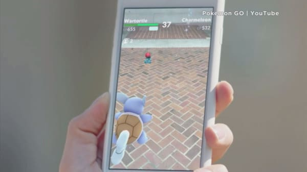 Pokemon Go helping businesses attract customers