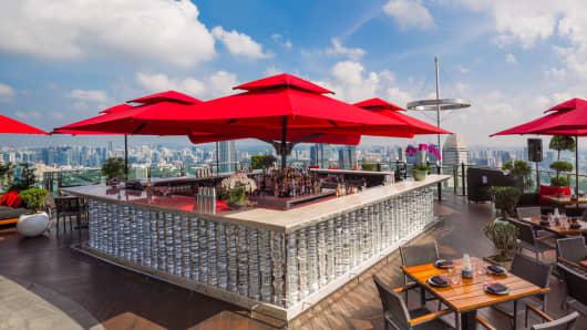Cê La Vi SkyBar, Singapore