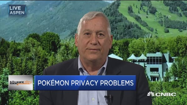 Protecting data on Pokémon Go