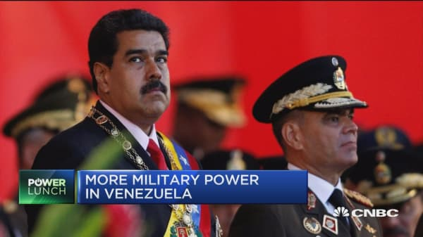 Venezuelan military growing in strength?