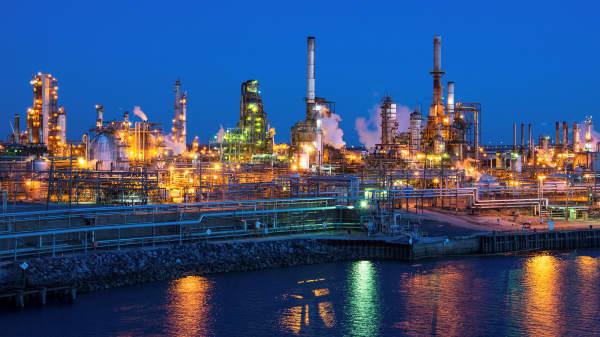 The Philadelphia Energy Solutions oil refinery in Philadelphia.