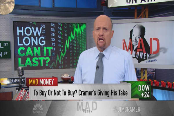 Cramer's warning: How the market's hot streak will end