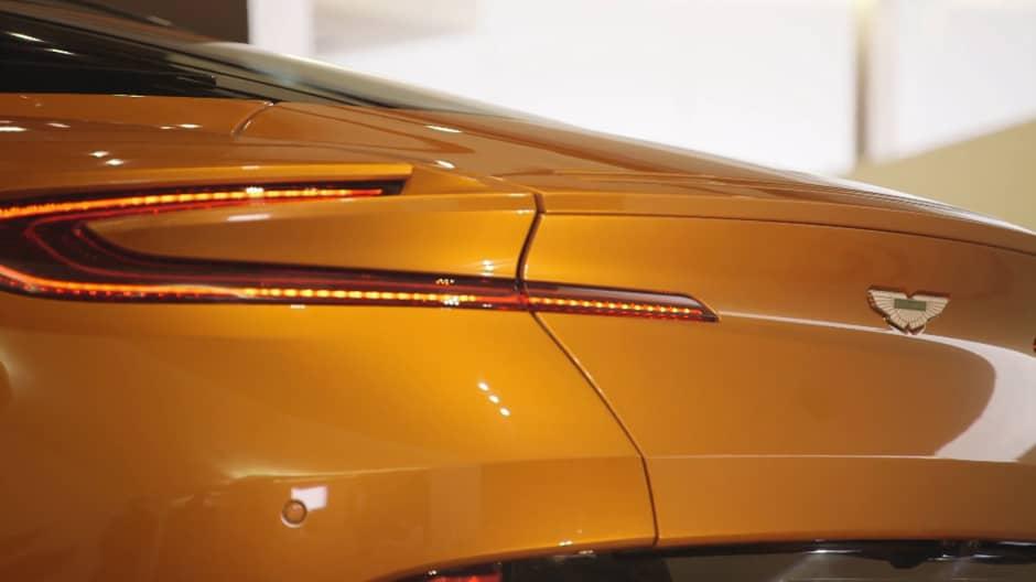 Inside the Aston Martin DB11 supercar