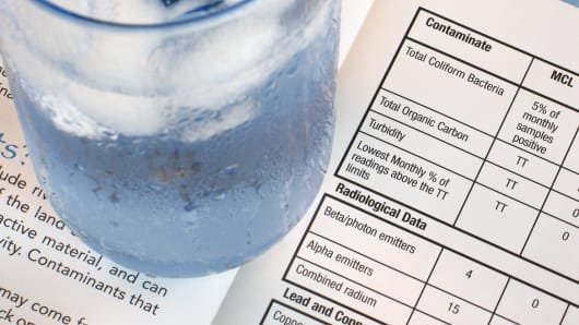 Water testing, toxins, lead poisoning