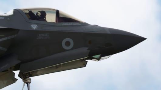 A Lockheed Martin F-35