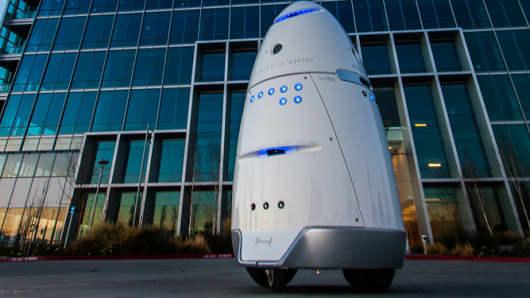 K5 robot, security robot
