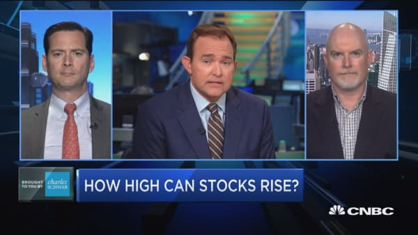 How high can stocks rise?