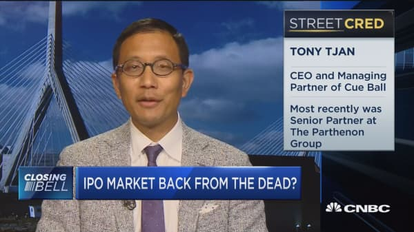 IPO market back from the dead?