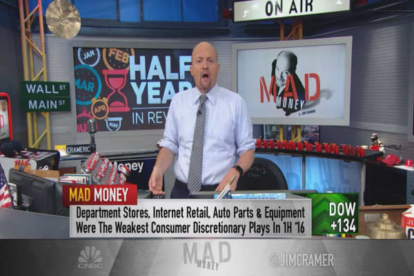 Cramer: Clear cut winning stocks for the second half of 2016
