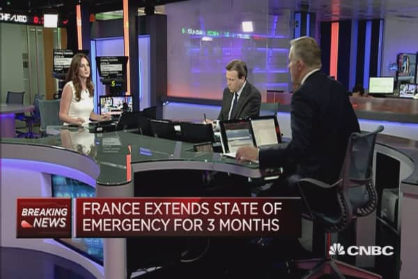 The top priority for France's security going forward