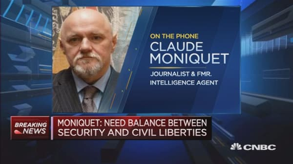 The driver was not known as an extremist: Moniquet