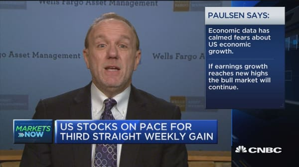 This is a fundamental-based rally: Jim Paulsen