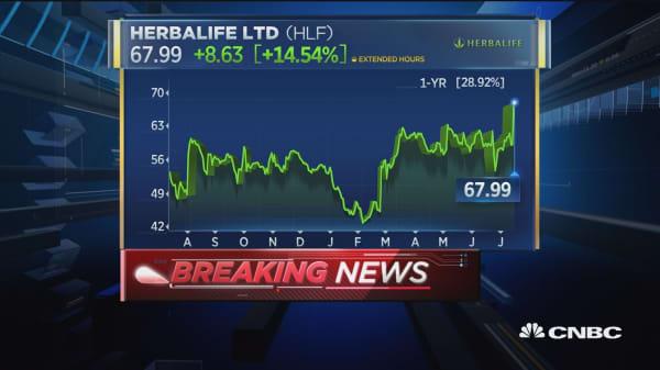 FTC determines Herbalife not a pyramid scheme: DJ