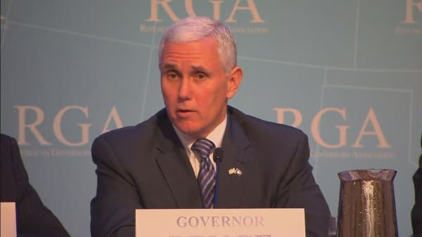 Trump to name Indiana Gov. Mike Pence as VP pick
