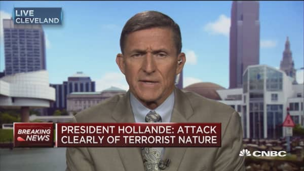 International organization needed to fight 'vicious enemy': Gen. Michael Flynn