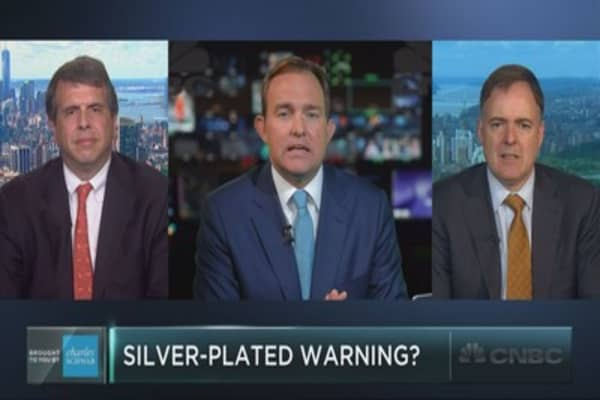 Silver is sending a warning to stocks: Strategist