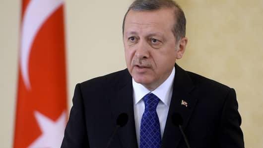 Tayyip Erdogan, president of Turkey